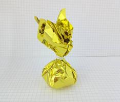 Грузик для шаров 50 грамм золото