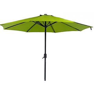 Зонт торговий антиветер Stenson MH-3841 2.7 м, зелений