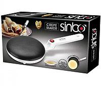Блинница электрическая погружная Sinbo Sp 5208. Сковородка для блинов настольная 20 см 650 Вт