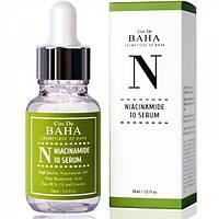 Сыворотка с ниацинамидом и цинком Cos de Baha 10% Niacinamide Serum with Zinc 1% 60 мл