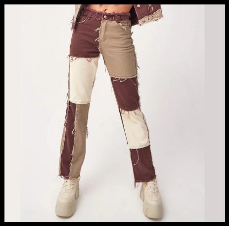 Джинси жіночі прямі в ковбойському стилі