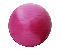 М'яч для фітнесу (фітбол) SportVida Anti-Burst Pink 550 мм, код: SV-HK0287