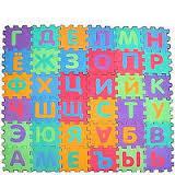 Коврик-пазл «весёлый алфавит» русский язык 0378