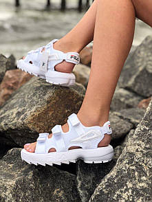 Женские сандали Fila Sandals White