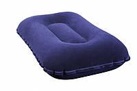 Надувная подушка для плавания и сна Синяя 48х26 см Bestway Бествей