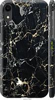 "Чехол на Apple iPhone XR Черный мрамор ""3846c-1560-8094"""