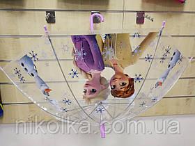 Зонты для девочек оптом, Disney, 48*5 см, арт. 08838