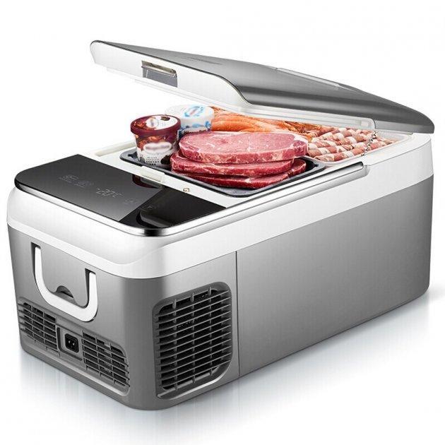 Автохолодильник компресорний Smartbuster BCD18, 18 л, 12/24/220В автомобільний міні холодильник в машину