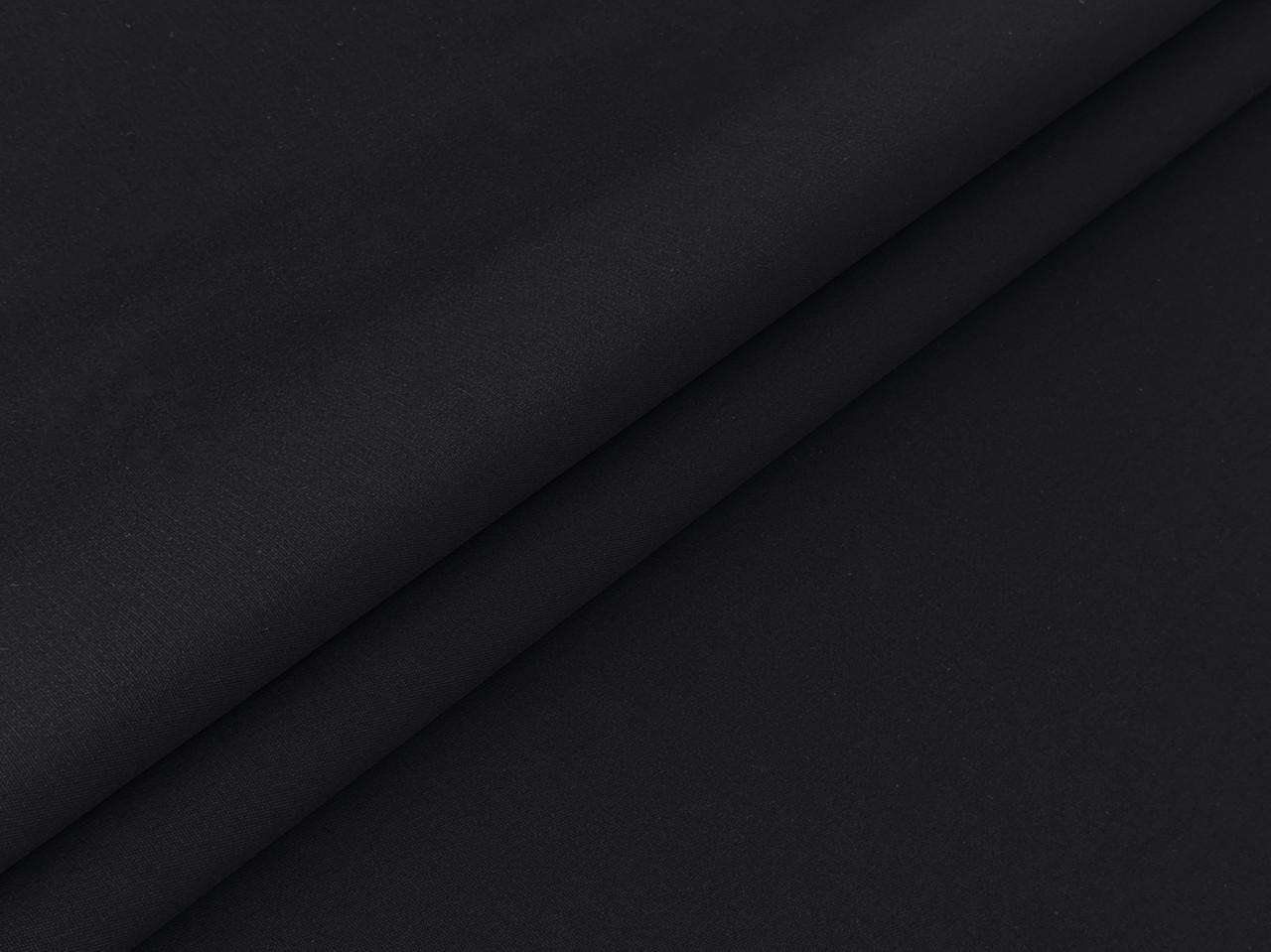 ткань твилл черный
