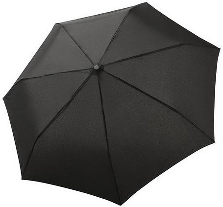 Зонт складаний Bugatti 744363001BU повний автомат чорний, фото 2