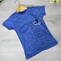 Дитяча футболка, трикотаж, для хлопчика 5-8 років (4 од. уп)