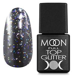 MOON FULL Top Glitter Rainbow №01 - топ для гель лаку, 8 мл.