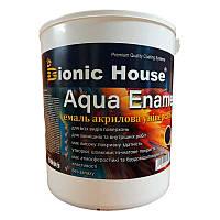 """Эмаль акриловая для дерева и металла """"AQUA ENAMEL"""" (0,8л) Bionic House (Бионик Хаус)"""