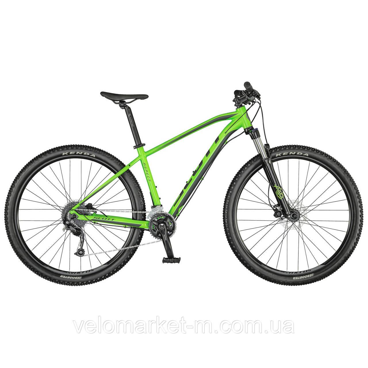 Велосипед Scott ASPECT 950 XL Smith green 2021