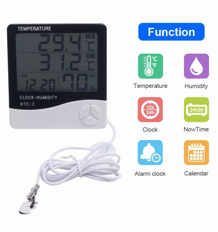 Термометр HTC-2 с выносным датчиком