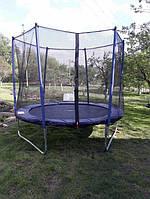 Батут Maxx Pro 252 см з захисною сіткою для дітей і дорослих домашній вуличний