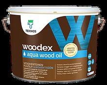WOODEX AQUA WOOD OIL 9л - Масло для дерева