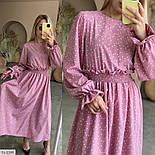Жіноче плаття довге вільного крою, фото 3
