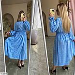 Жіноче плаття довге вільного крою, фото 6