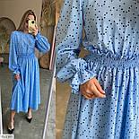 Жіноче плаття довге вільного крою, фото 7
