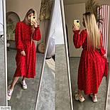Жіноче плаття довге вільного крою, фото 9