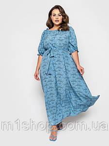 Жіноче легке літнє плаття великих розмірів (Медісон lzn)