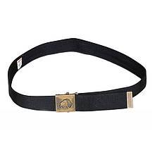Пояс с потайным карманом на молнии Tatonka Uni Belt (124x3,8см), черный