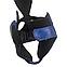 Шлем каратэ Элит L кожвинил, синий BOXER, фото 2
