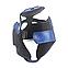 Шлем каратэ Элит L кожвинил, синий BOXER, фото 3