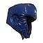 Шлем каратэ Элит L кожвинил, синий BOXER, фото 4