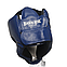 Шлем каратэ Элит L кожвинил, синий BOXER, фото 6