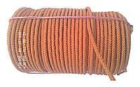 Капронова мотузка 10 мм х 100 метрів в мотку шнур плетений кордовий