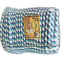 Шнур поліпропіленовий фал плетений Ø12 (100 метрів) з сердечником