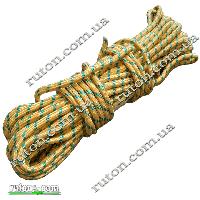 Шнур поліпропіленовий фал плетений 8 мм 20м з сердечником