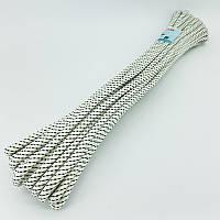 Шнур плетений човновий для риболовлі 7 мм 30 м