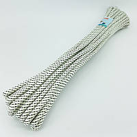 Шнур плетений човновий для риболовлі 7 мм 15 м
