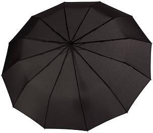 Зонт складаний Doppler 746863DSZ повний автомат чорний, фото 2