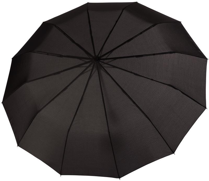Зонт складаний Doppler 746863DSZ повний автомат чорний