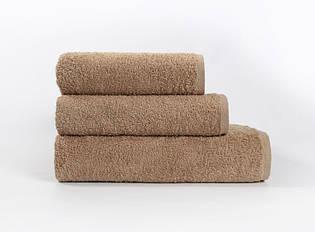 """Махровое пляжное полотенце """"Iris Home"""" Camel"""