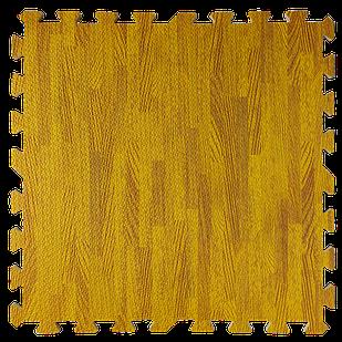 Пол пазл - модульное напольное покрытие 600x600x10мм янтарное дерево