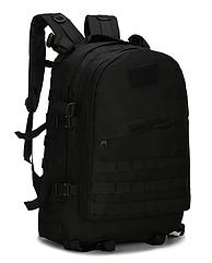 Военный рюкзак TACTICAL B01 40 л Черный hubLKWE27703, КОД: 1565178
