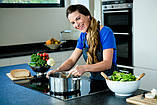 Набор посуды Benson BN-293 с мраморным покрытием (12 предметов) | кастрюля, сковорода с крышкой, сотейник, фото 5