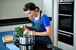 Набор посуды Benson BN-293 с мраморным покрытием (12 предметов) | кастрюля, сковорода с крышкой, сотейник, фото 7