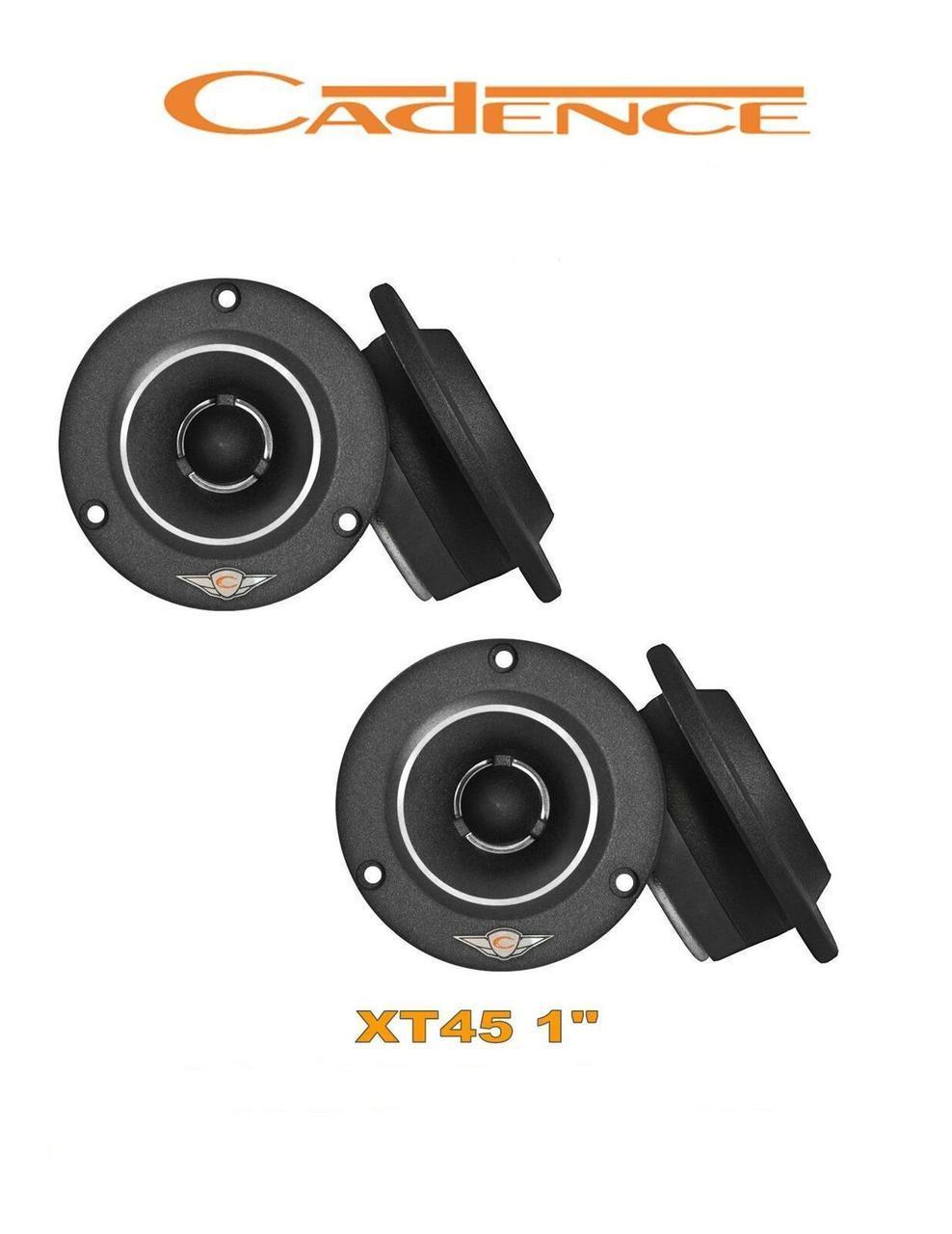 """Автомобільна акустика Cadence XT 45 Твітер 2,54 см (1"""")"""