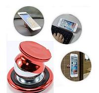 Магнитный автомобильный держатель для телефона Mobile Bracket красный