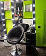 Кресло парикмахерское код 8516 гидравлика ,кожзам цвет на выбор, фото 5