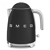 Чайник электрический Smeg 1.7 л матовый черный KLF03BLMEU