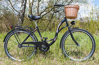 Велосипед VANESSA 26 Black Польша