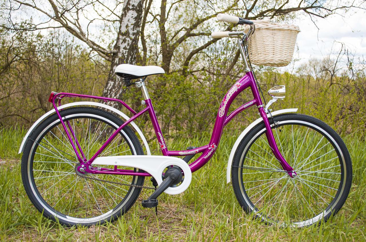 Велосипед VANESSA 26 Berry Польща