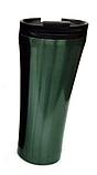 Термокружка из нержавеющей стали Benson BN-063 (380 мл) серая | термочашка Бенсон | термос Бэнсон, фото 2